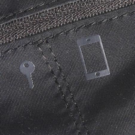 Skriešanas viedtālruņa josta, melna