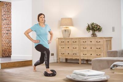قرص توازن Softمعدات التمارين الرياضية والبيلاتس لوضعية وتوازن الجسم