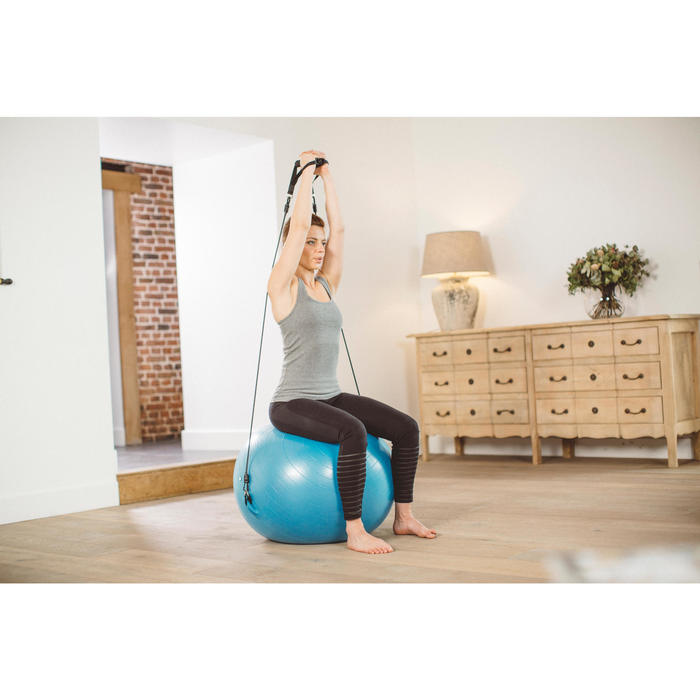 SWISS BALL 120 PILATES LARGE + ELASTIQUES - 1413263