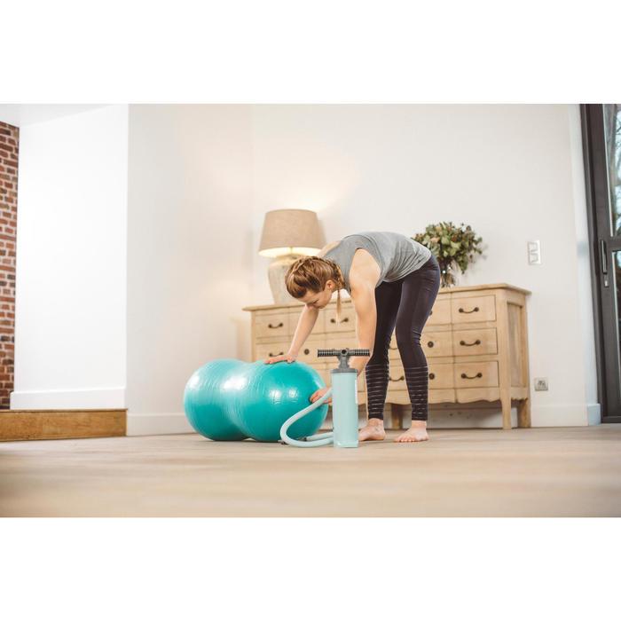 Pumpe für Gymnastikbälle 500 zum Aufpumpen/Entleeren Pilates groß 1,4l