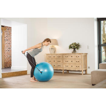 SWISS BALL 120 PILATES LARGE + ELASTIQUES - 1413276