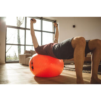 SWISS BALL 120 PILATES LARGE + ELASTIQUES