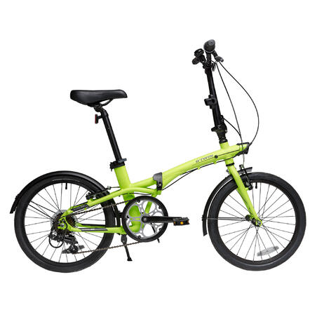 "Tilt 500 20"" Folding Bike - Yellow"