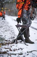 500 Softshell Hunting Mittens - Green