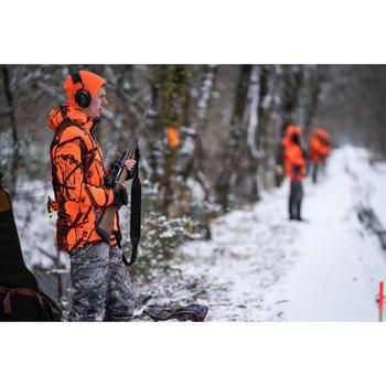 Omkeerbare muts 300 voor de jacht oranje en groen