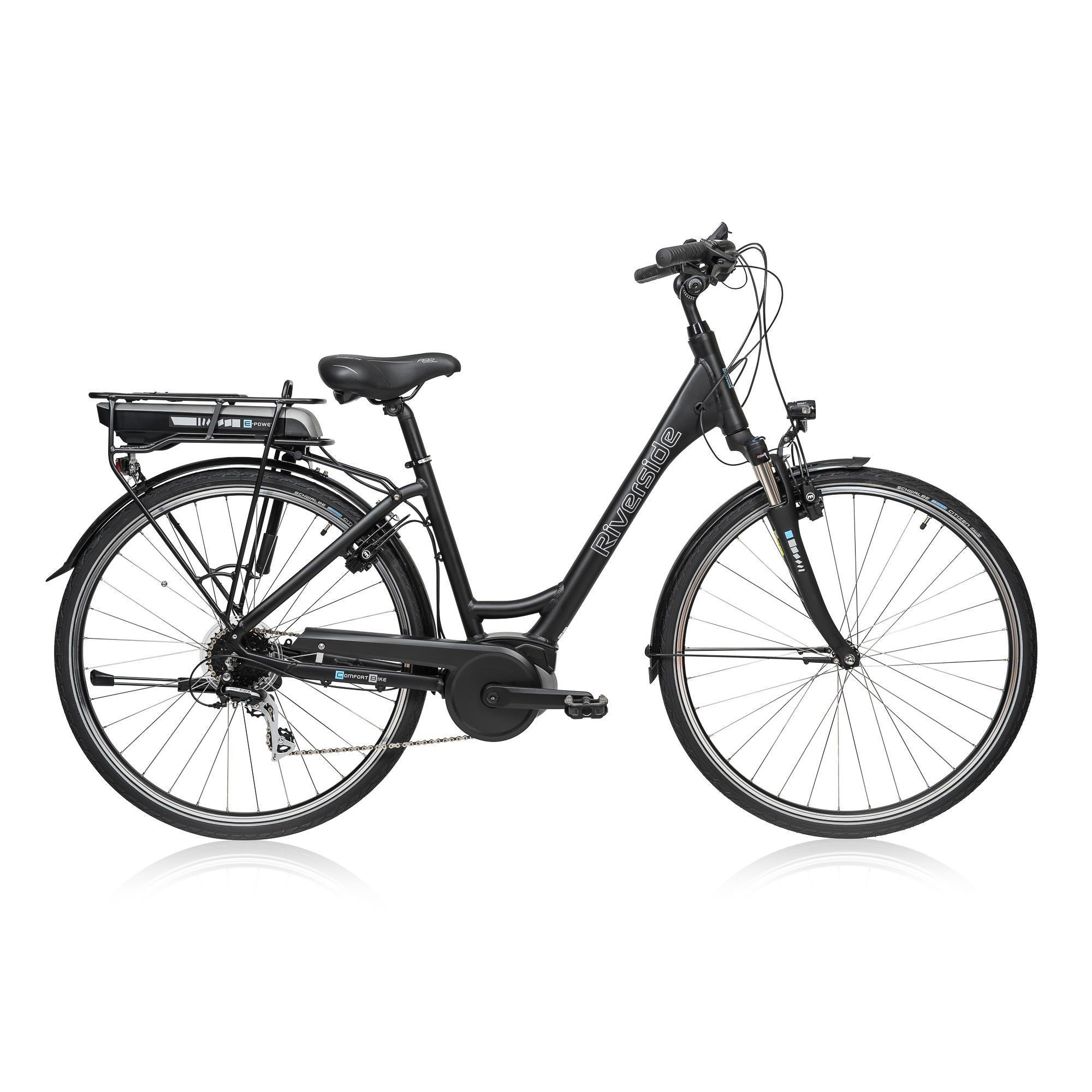 e bike 28 riverside city acera active 300wh riverside decathlon. Black Bedroom Furniture Sets. Home Design Ideas