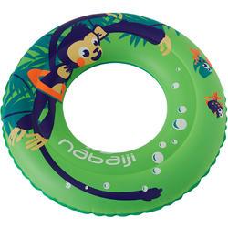 Schwimmring 51 cm Kinder Affe grün