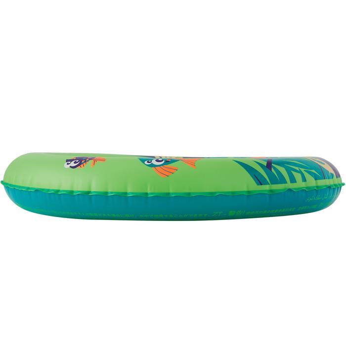 Flotador hinchable de 51 cm verde estampado «MONO» júnior 3-6 años