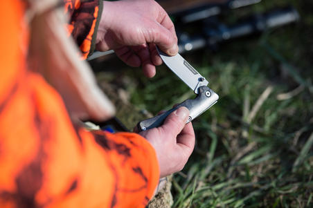 Couteau pliant AXIS 85 Métal Furtiv