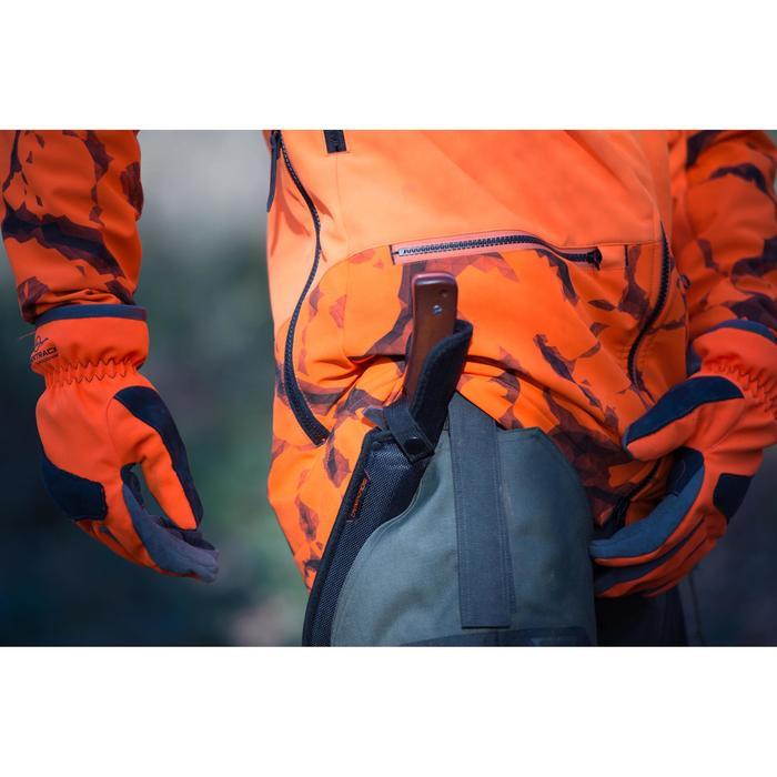 Waterdichte handschoenen voor de jacht Supertrack 500 oranje