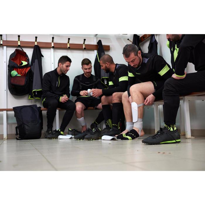 Protège-tibias de football adulte F140 (chevillère détachable) - 1413584