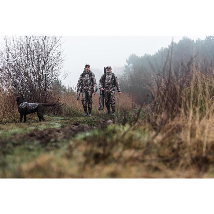 Jagd-Regenhose Wathose 500 Schilftarn wasserdicht