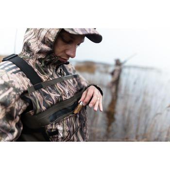Casquette chasse 100 camouflage marais