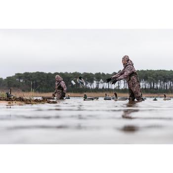 Jagdmütze 100 Camouflage Sumpf