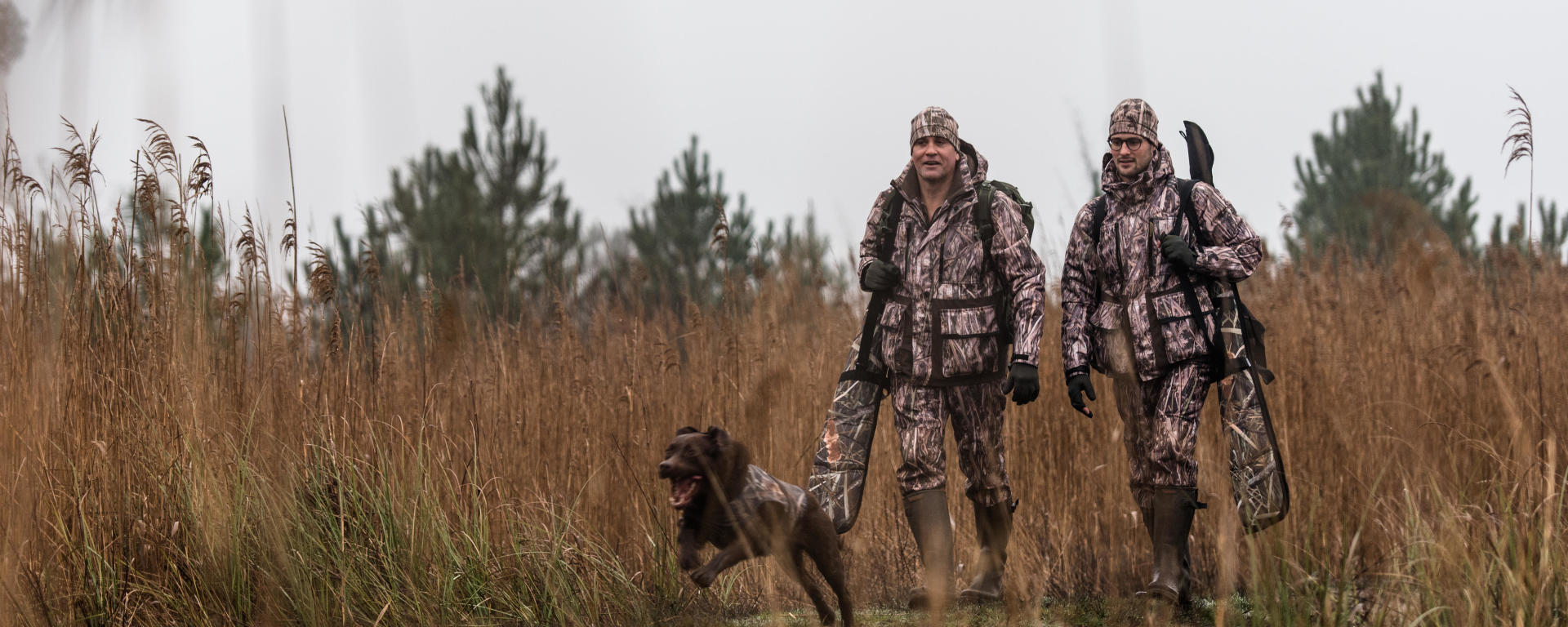 chasser les oies quand elles remontent vers le Nord