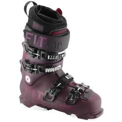 女款下坡滑雪靴FIT 900 - 紫色