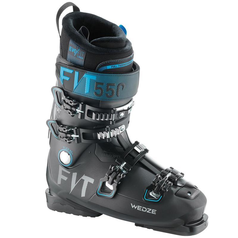 Men's Piste Ski Boots - Black