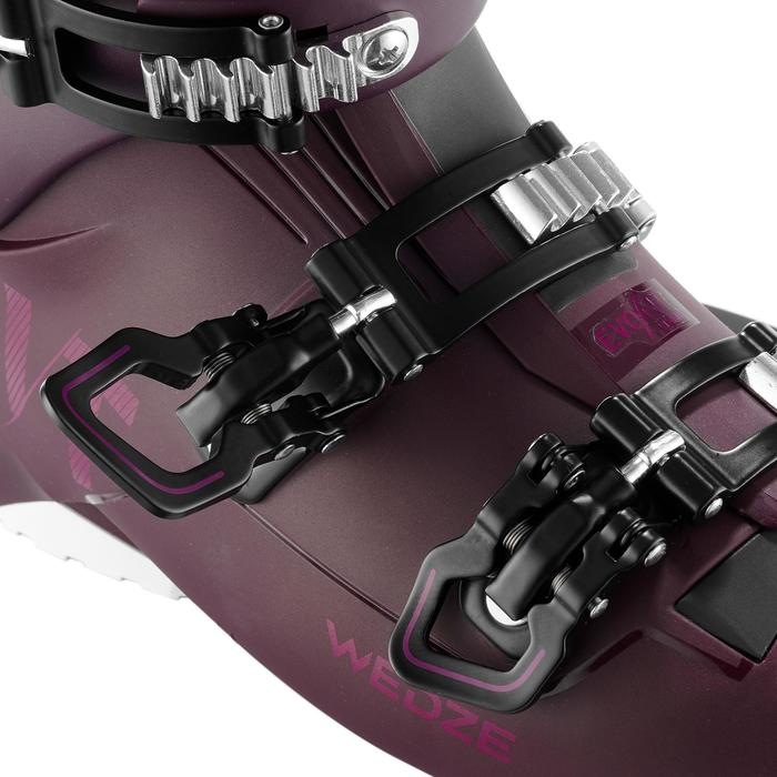 WOMEN'S DOWNHILL SKI BOOTS EVOFIT 900 - PURPLE