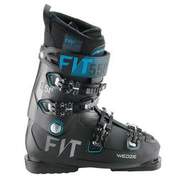 MEN'S DOWNHILL SKI BOOTS EVOFIT 550 - BLACK