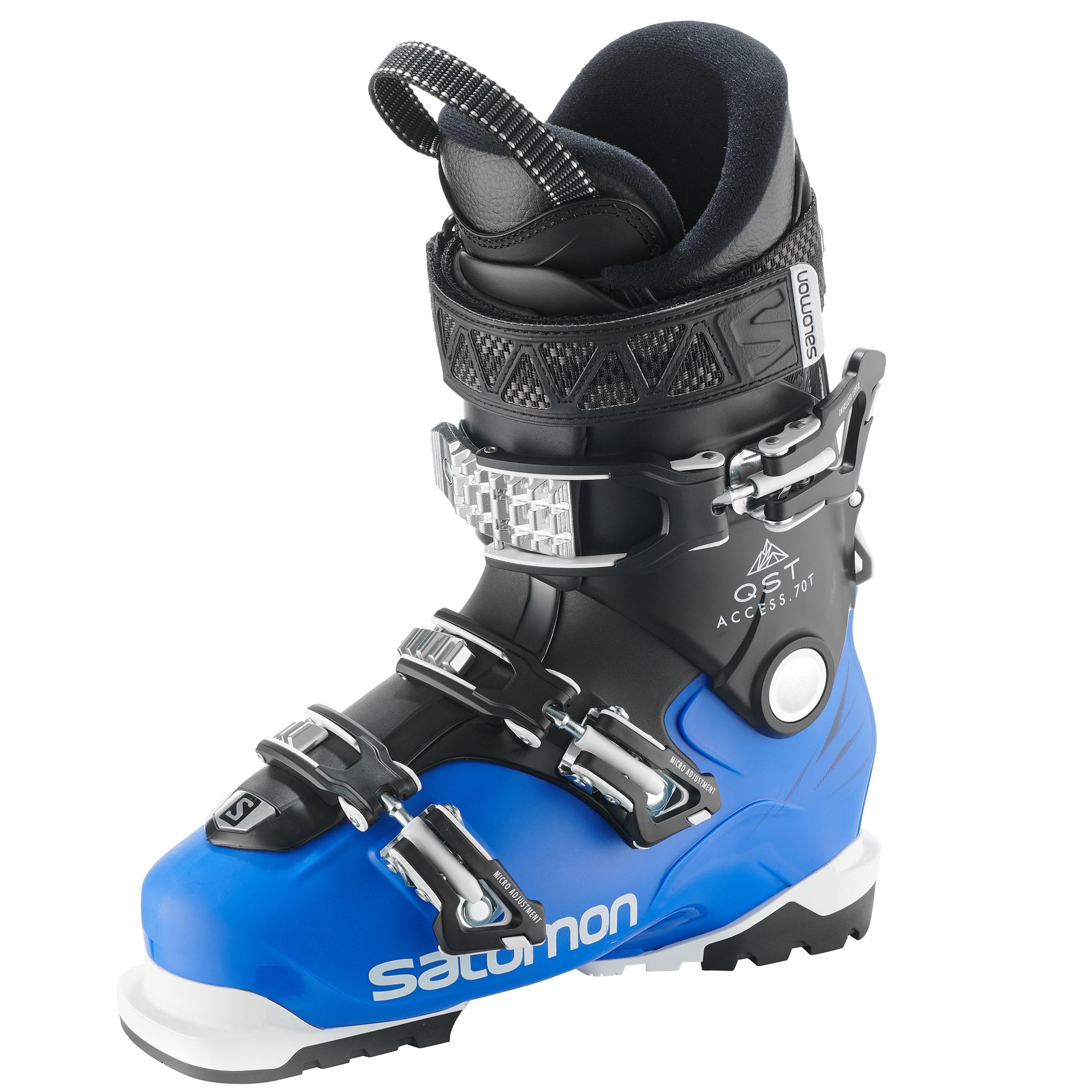 Jungen,Kinder,Kinder Skischuhe Freeride Salomon QST Access 70 Kinder blau   00889645659251