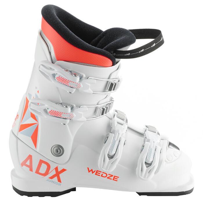 Skischuhe Boots Ski-P Boots 500 Kinder weiß