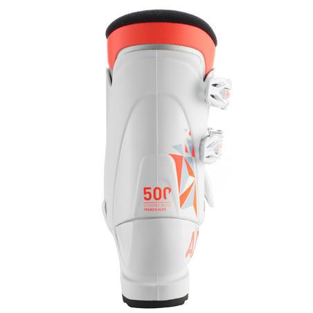 KIDS' SKI BOOT 500 - WHITE