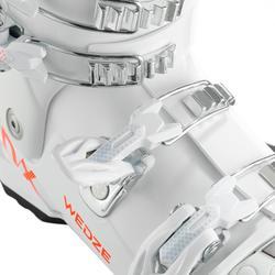 兒童滑雪靴500 - 白色