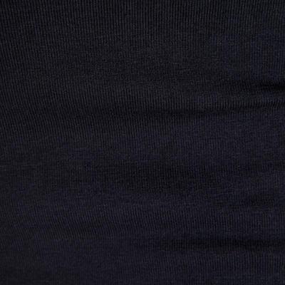 Short en coton biologique gym douce, yoga, pilates femme noir