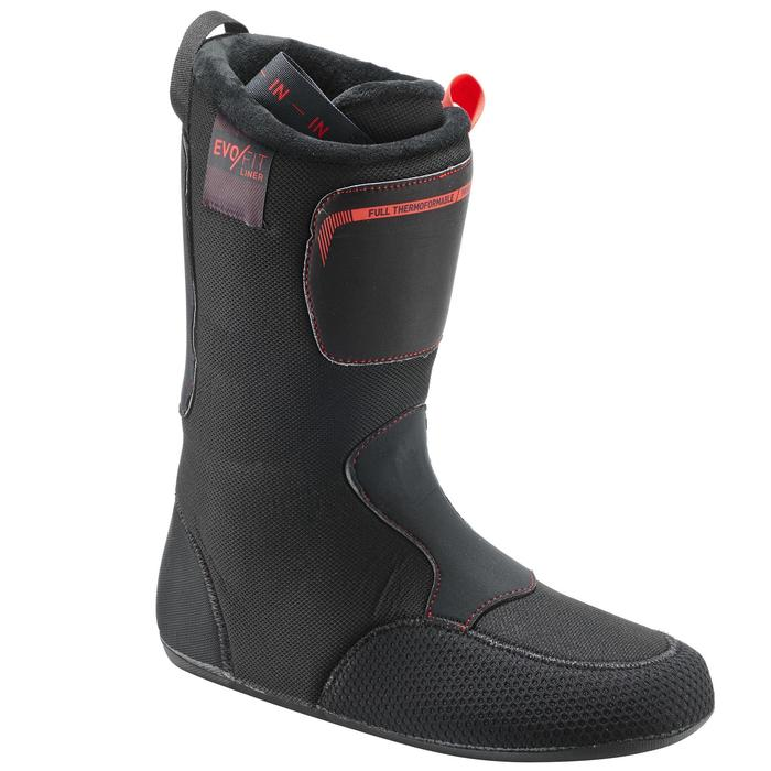 Skischoenen voor pisteskiën heren Evofit 900 zwart