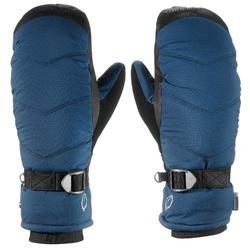 Skiwanten voor volwassenen 500 blauw