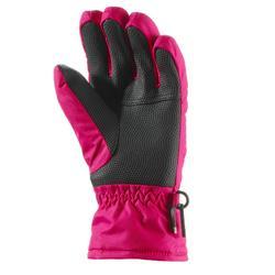 Skihandschuhe GL 100 Kinder rosa