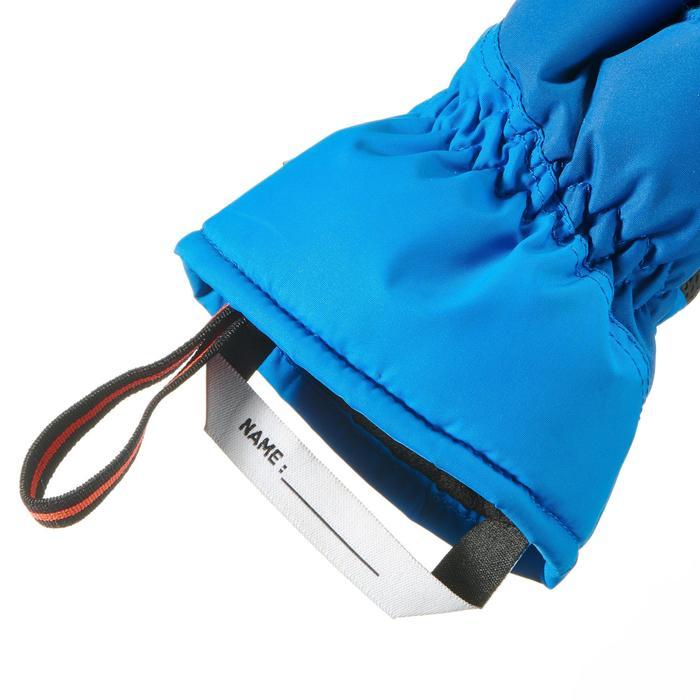 Skihandschuhe Piste 100 Kinder blau