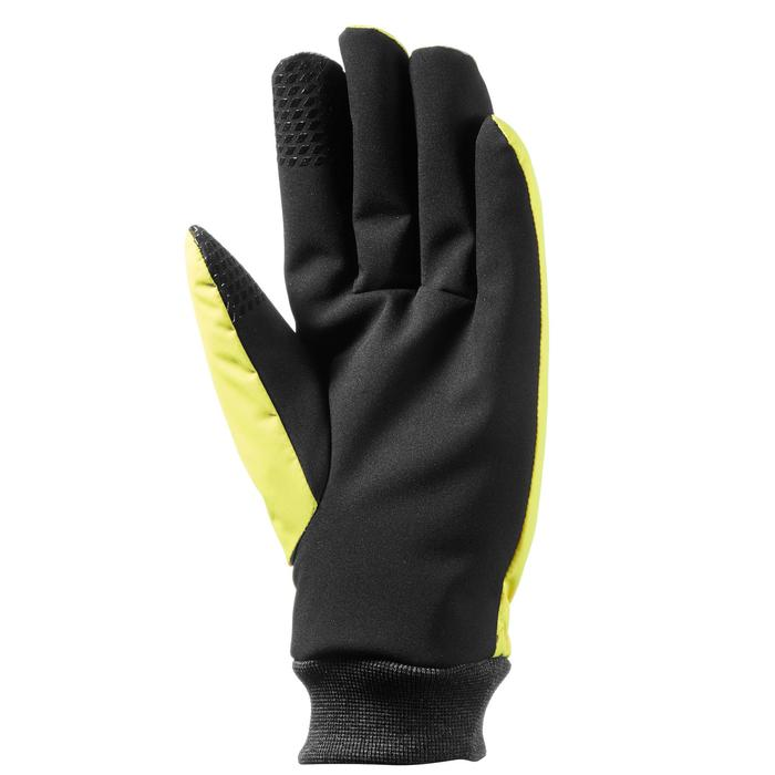 GANTS DE SKI DE PISTE ADULTE WARM FIT JAUNES