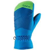 MI 100 Junior Ski Mittens - Blue/Green