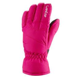Skihandschoenen GL 100 voor kinderen roze