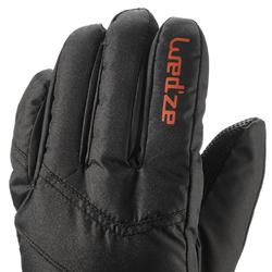 JUNIOR SKI GLOVES 100 - BLACK