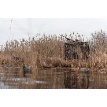 Waterdichte jagersjas 500 moeras groen