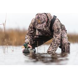 Waterdichte jagersjas 500 moeras camouflage