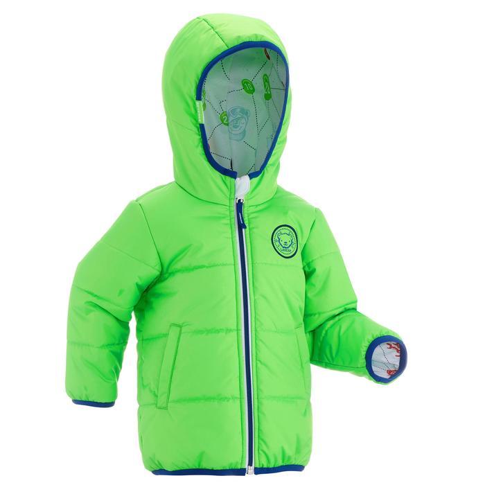 Chaqueta de trineo warm reverse verde bebé