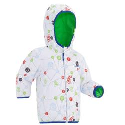 Veste de luge warm reverse verte bébé