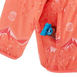 Skijacke warm Reverse Baby korallenrot