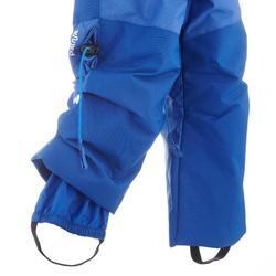 Skihose Ski-P PA 500 PNF Kleinkinder blau