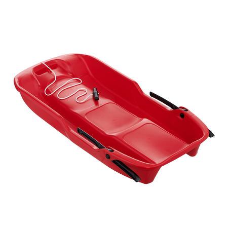 Traîneau rouge avec freins