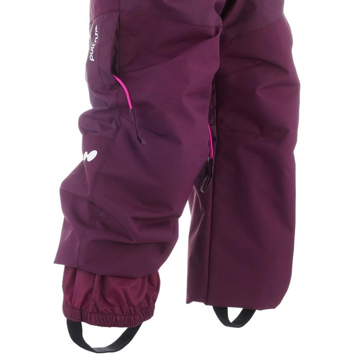 Skihose Ski-P PA 500 PNF Kleinkinder violett