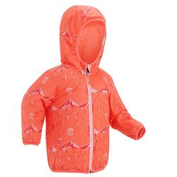 Veste de luge warm reverse rose bébé