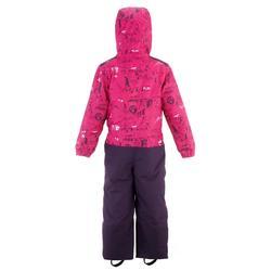 Skipak voor kinderen SKI-P SUIT 500 PNF roze