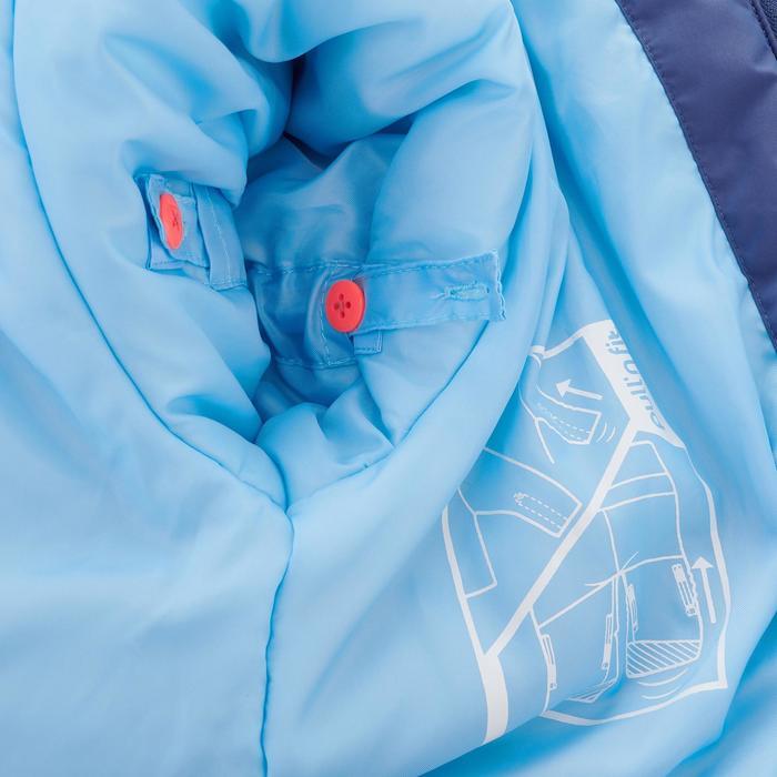 Skianzug Combo 500 Kleinkinder blau/orange