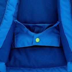 Ski-jas voor kinderen PNF 500 groen/blauw