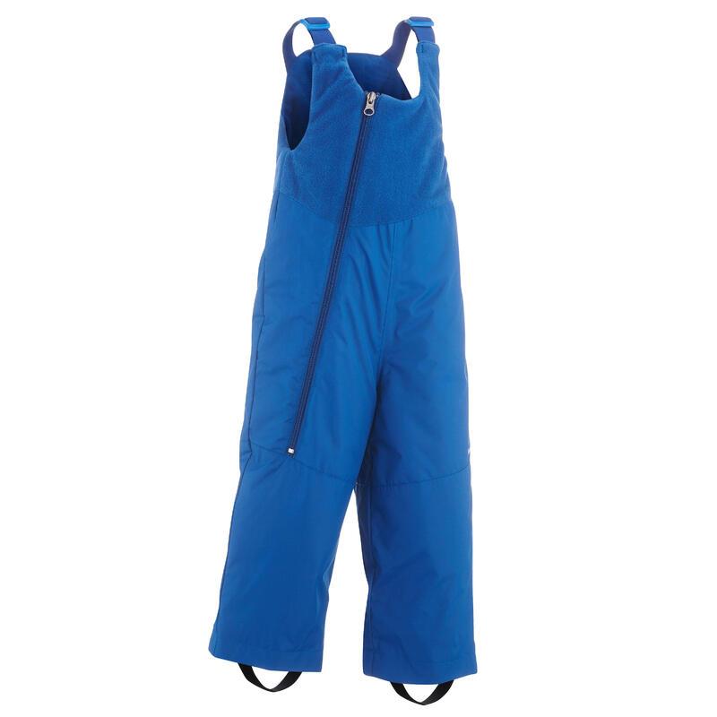 Salopette ski bébé WARM bleue