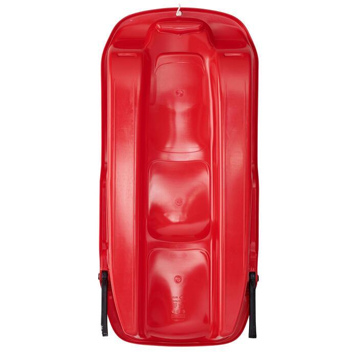 Luge plateau adulte avec frein rouge - 1414094